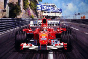 Schumacher at Monaco 04