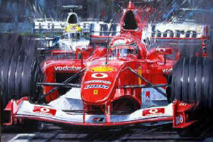 Schumacher at Montreal