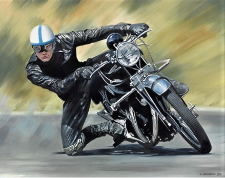Vincent Rider - John Surtees